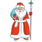 Волшебный посох Деда Мороза. Праздник для детей логопедической группы.
